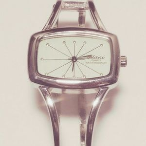 Art Deco Style Quartz Stainless Steel Wrist Watch